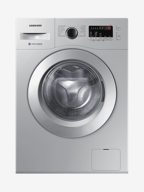 Samsung 6.5 kg 5 Star Fully Automatic Front Load Washing Machine 1000 RPM  WW66R20GKSS/TL, Silver