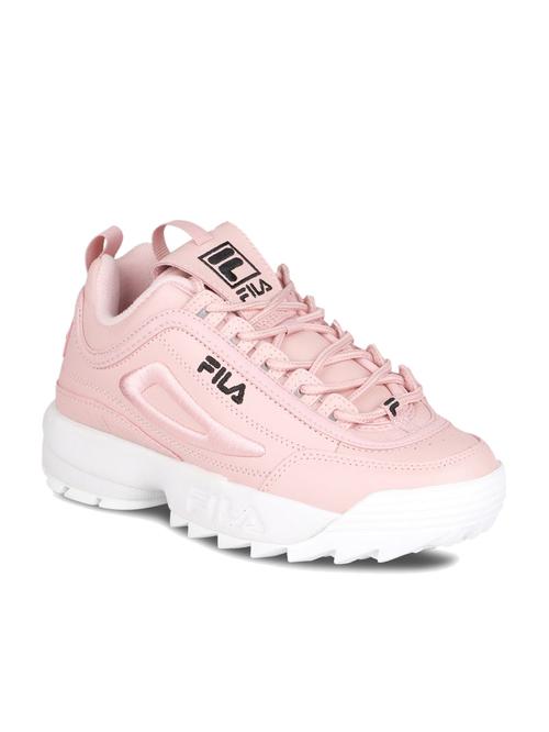 Fila Disruptor II 3D Pink Sneakers from