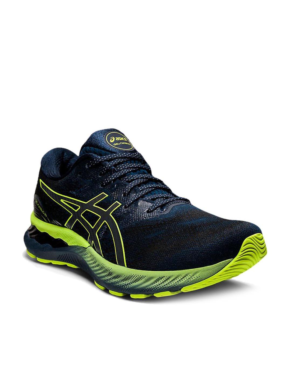 Buy Asics Men's GEL-NIMBUS 23 LITE-SHOW Blue Running Shoes Online ...