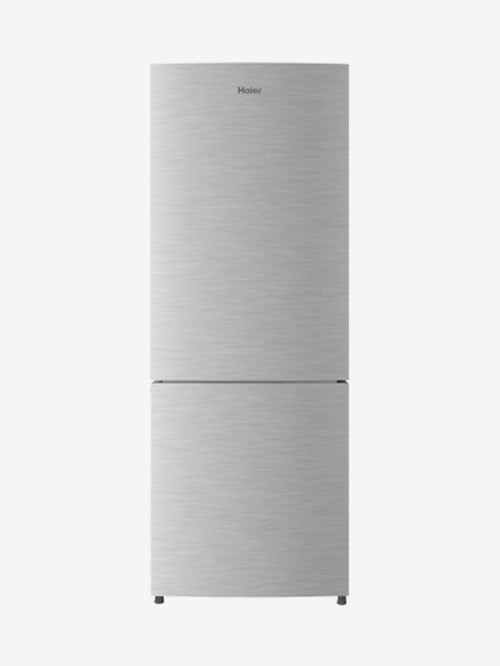 Haier 320L 3 Star 2019 Frost Free Double Door Bottom Mount Refrigerator Silver, HRB 3404BS R