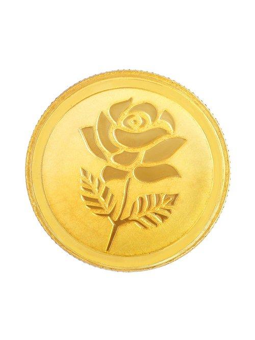 Malabar Gold and Diamonds 22k  916  5g Gold Coin