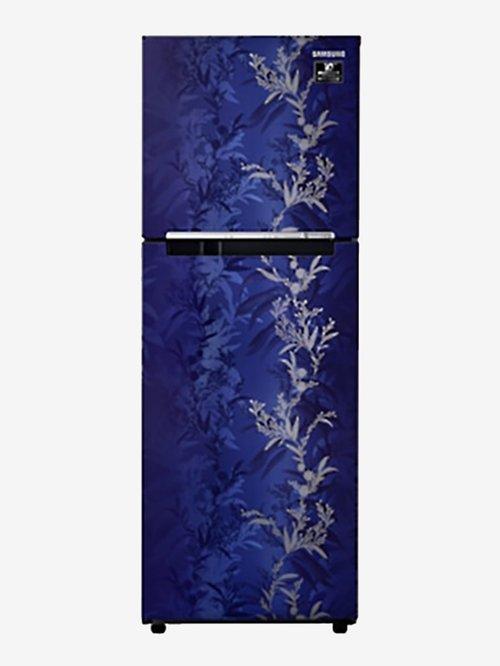 Samsung 253L Inverter 2 Star 2020 Frost Free Double Door Refrigerator  Mystic Blue, RT28T30226U