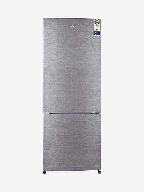 Haier 320 L 2 Star  2020  Frost Free Double Door Refrigerator  HRB 3404BS E, Brushline Silver
