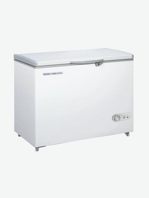 Voltas 150 L Single Door Hard Top Deep Freezer (White,...