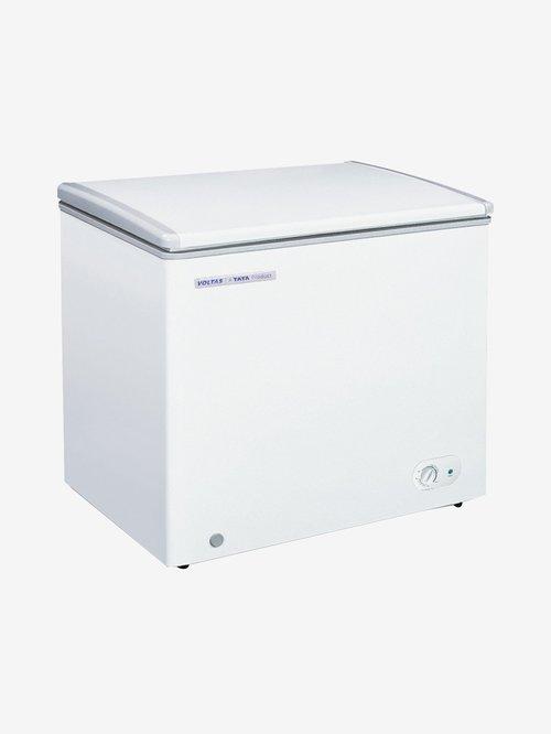 Voltas 110 L Single Door Hard Top Deep Freezer (White,...