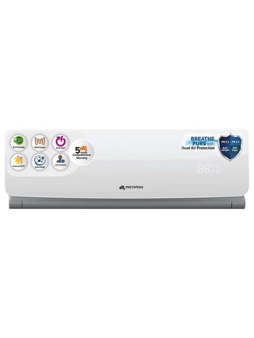 Micromax ACI12C3B3TS6WHIIDU 1 Ton 3 Star 2020 Inverter Split AC