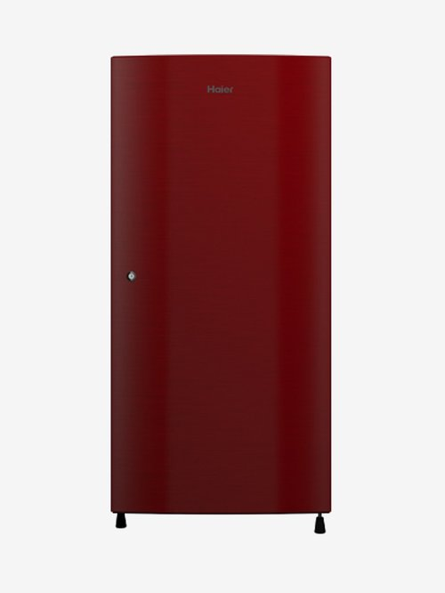 Haier 195L 3 Star  2020  Direct Cool Single Door Refrigerator  Red, HRD 1953CCR E