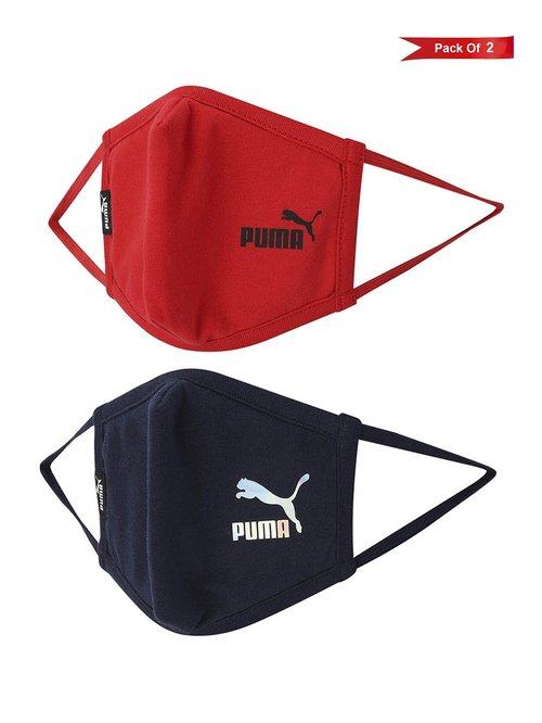 Puma 5 Layered Reusable Face Mask - Pack of 2