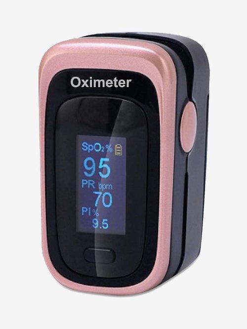 Sahyog Wellness Next Gen OLED Type Fingertip Pulse Oximeter (Black)