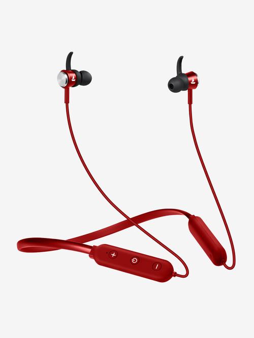 boAt Rockerz 275 V2 Neckband With Mic  Red