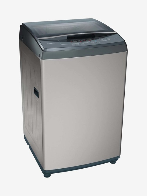 Bosch 7 kg Fully Automatic Top Load Washing Machine 680 RPM  WOE702D2IN, Anthracite