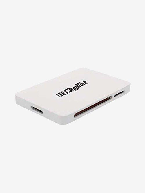 Digitek DCR 022 USB 3.0 High Speed Card Reader  White  Digitek Electronics TATA CLIQ
