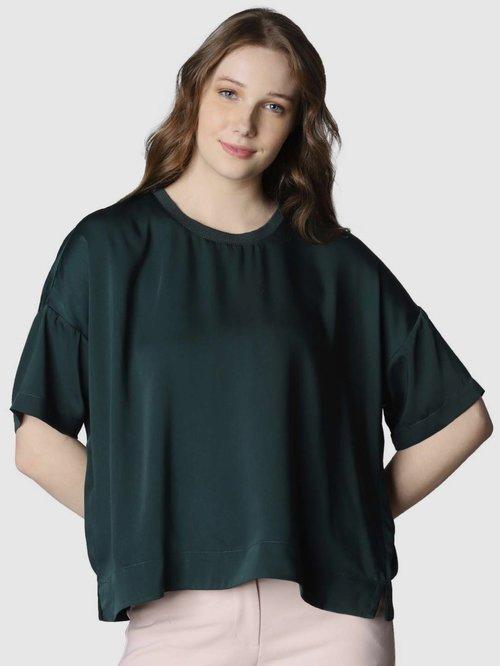 Vero Moda Green Regular Fit Top
