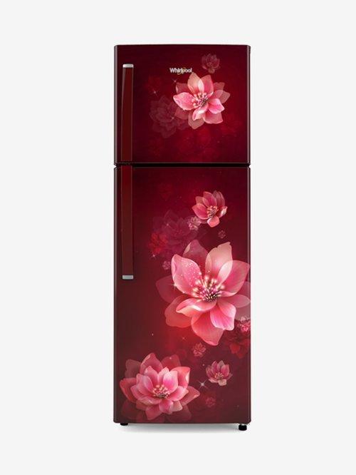 Whirlpool 265 L Frost Free Double Door 2 Star Refrigerator(Wine Mulia, NEO 278LH PRM (2s)-N)