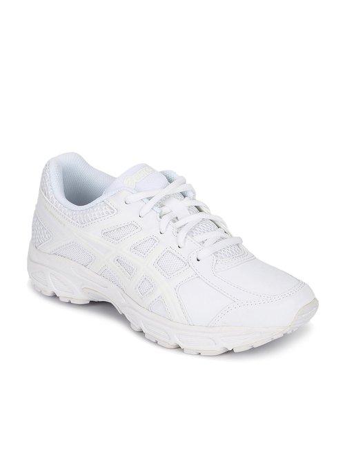 Asics Kids Unisex Gel-Contend 4 GS White Running Shoes