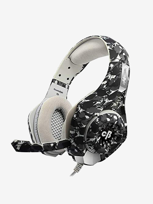 Cosmic Byte GS410 Wired Gaming Headphone with Mic  Camo Black
