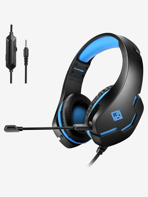 Cosmic Byte Stardust Wired Gaming Headphone with Mic  Black/Blue