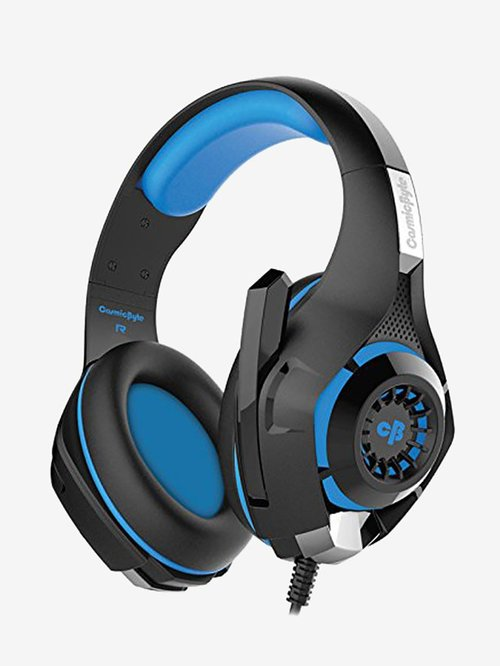 Cosmic Byte GS410 Wired Gaming Headphone with Mic  Black/Blue