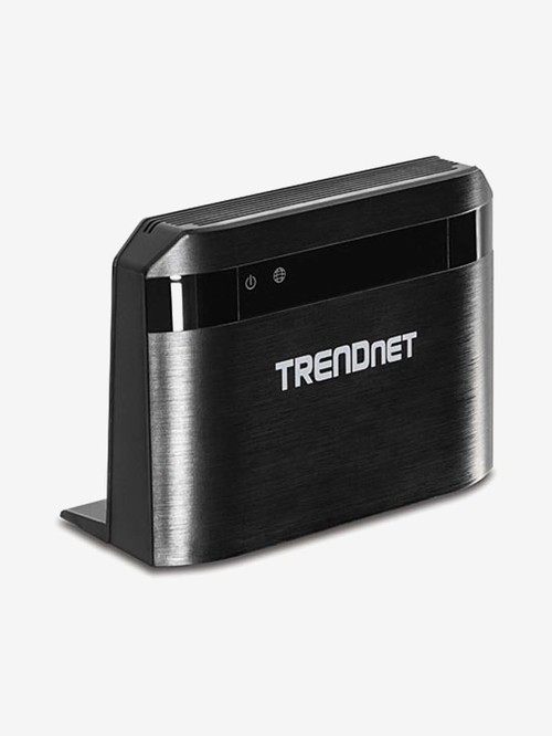 TRENDnet AC750 TEW 810DR Dual Band Wireless Router  Black  TRENDnet Electronics TATA CLIQ