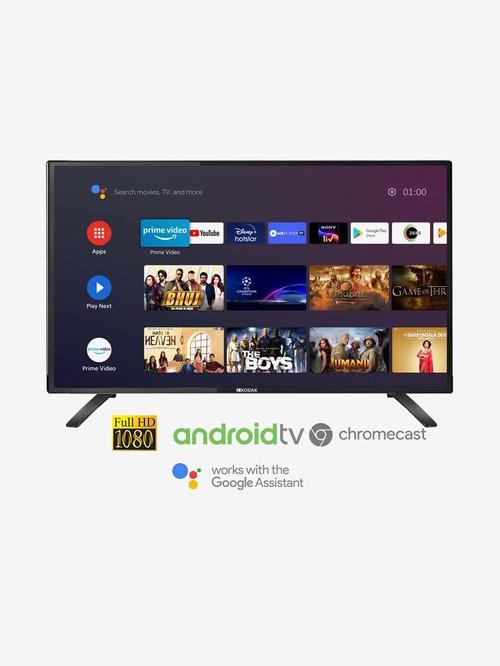 Kodak 102 cm  40 Inches  Android Smart Full HD LED TV 40FHDX7XPRO  2020 Model, Black