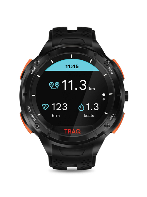TRAQ Cardio 75001PP02 Unisex Smart Watch