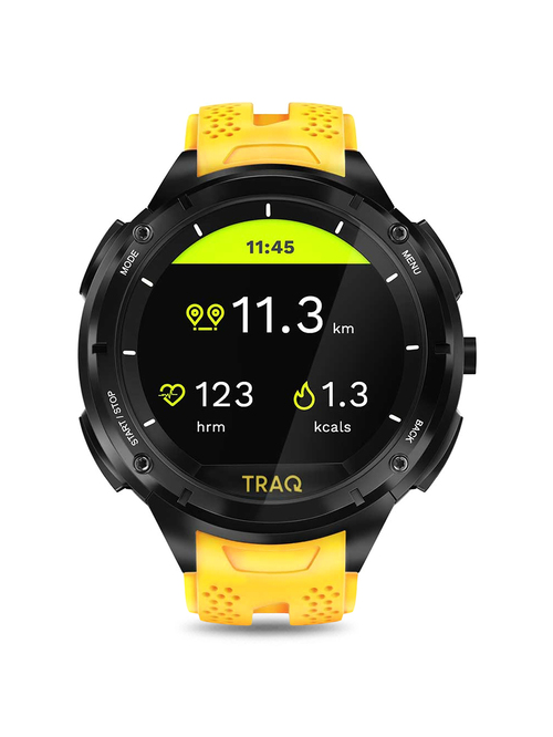 TRAQ Cardio 75001PP03 Unisex Smart Watch