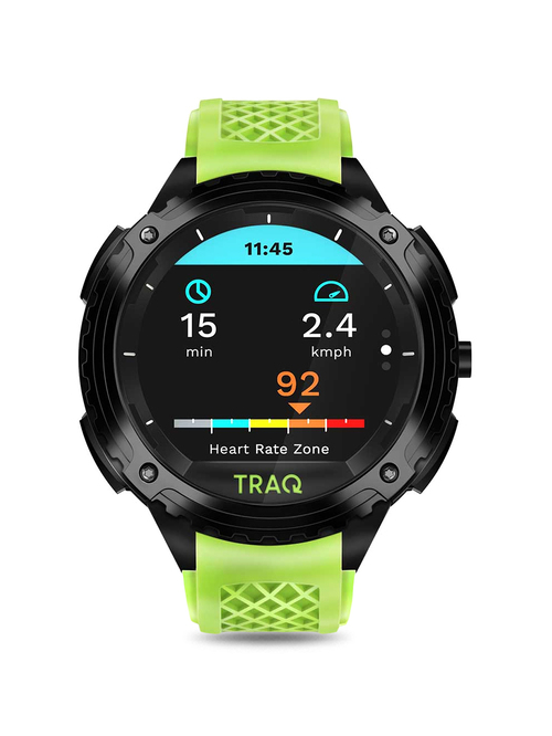 TRAQ Triathlon 75004PP03 Unisex Smart Watch