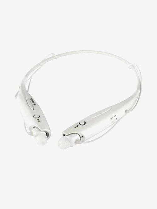 FPX Wireless Neckband Bluetooth Headset With Mic  White