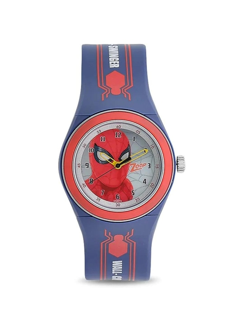 Zoop NKC4048PP12W Spiderman Homecoming Analog Watch for Kids