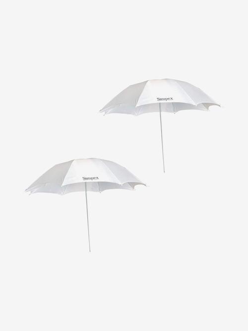 Simpex Professional Umbrella   Pack of 2  White