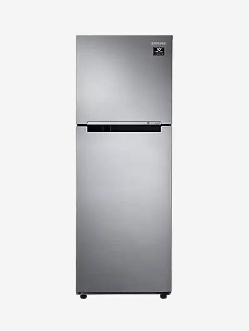 Samsung 253 L Inverter 2 Star Frost Free Double Door Refrigerator  Elegant Inox, RT28A3052S8/HL