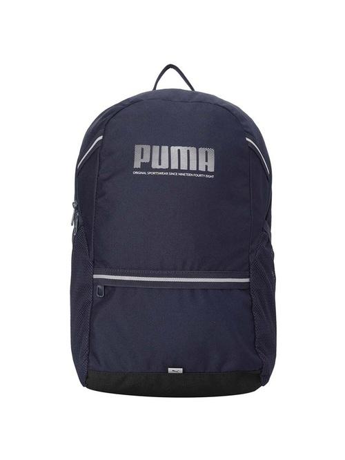 Puma Blue Polyester Medium Backpack