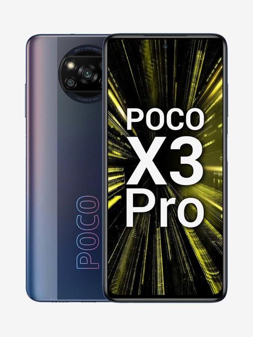 POCO X3 Pro 128 GB (Graphite Black) 6 GB RAM, Dual SIM 4G