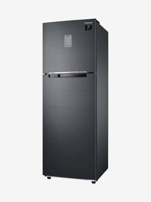 Samsung 275 L Inverter 3 Star Frost Free Double Door Convertible Refrigerator  Black,RT30A3743BX/HL