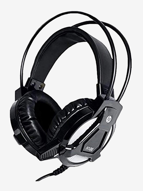 HP H100 Wired Gaming Headphone with Mic  Black