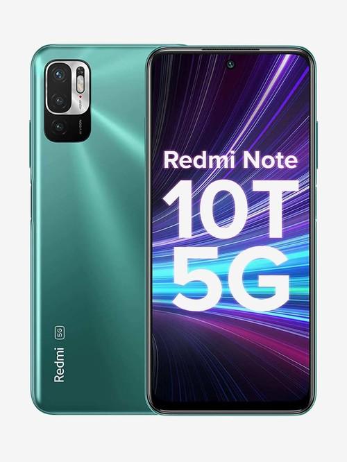 Redmi Note 10T 64 GB (Mint Green) 4 GB RAM, Dual SIM 5G