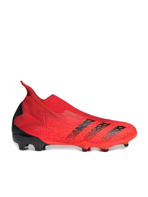 Adidas Men's PREDATOR FREAK .3 LL FG Red Football Shoes