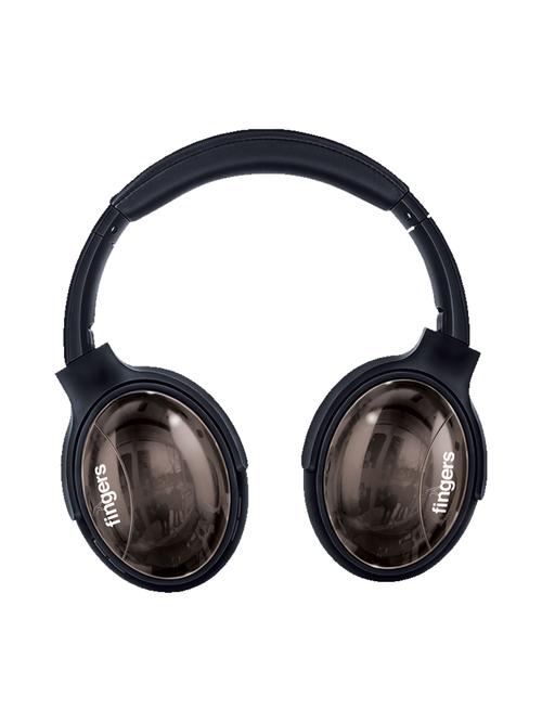 Fingers Alloy H3 Over Ear Wireless Bluetooth Headphone  Black