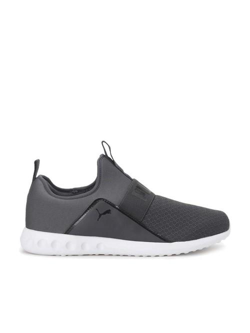 Puma Men's Swing Slipon IDP Ash Grey Running Shoes
