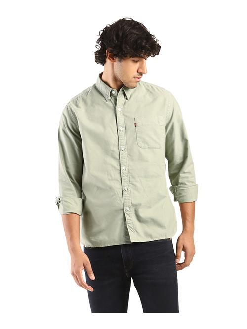 Levi's Green Slim Fit Shirt