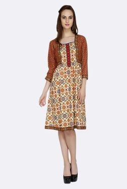 Fusion Beats Multicolor Printed Dress