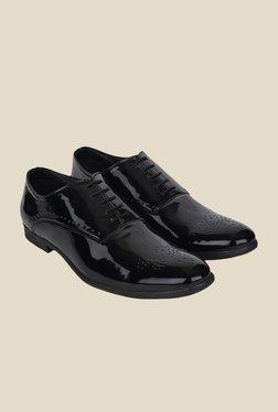 DaMochi Seoul Patent Black Oxford Shoes