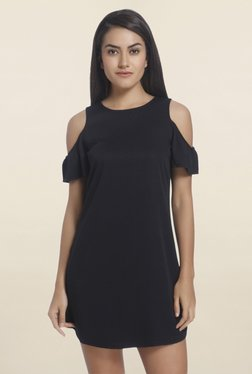 Only Black Short Sleeves Dress