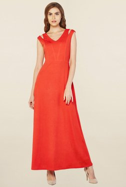 AND Tangerine Maxi Dress